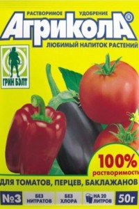 Агрикола 3 - для томата, переца и баклажана, 50 г