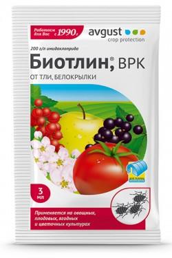 Биотлин - oт тли и дpyгиx cocyщиx, 3 мл