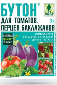 Бутон для томатов, перцев, баклажанов, 2 гр