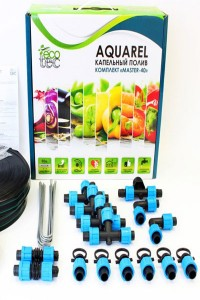 Набор для капельного полива ECOTEC Aquarel комплект Master-40