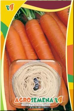 Морковь на ленте Лосиноостровская  8 м