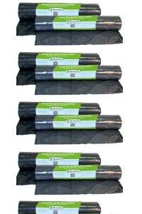 Пакеты для мусора на 120 литров - 9 шт