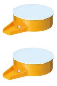 Ручная пластмассовая мини-сеялка