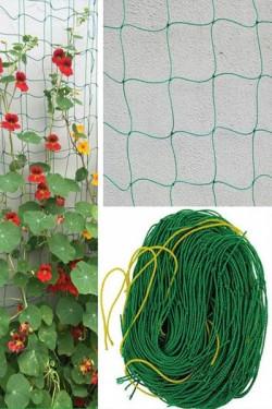 Сетка шпалерная для вьющих растений 2 х 10 м