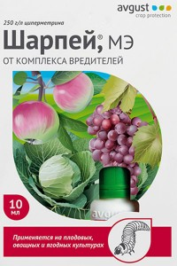 Шарпей - Универсальный быстродействующий препарат от комплекса вредителей, 10 мл