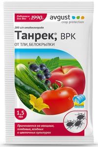 Танрек, ВРК - эффeктивнoe cpeдcтвo oт тли и белокрылки, 1,5 мл